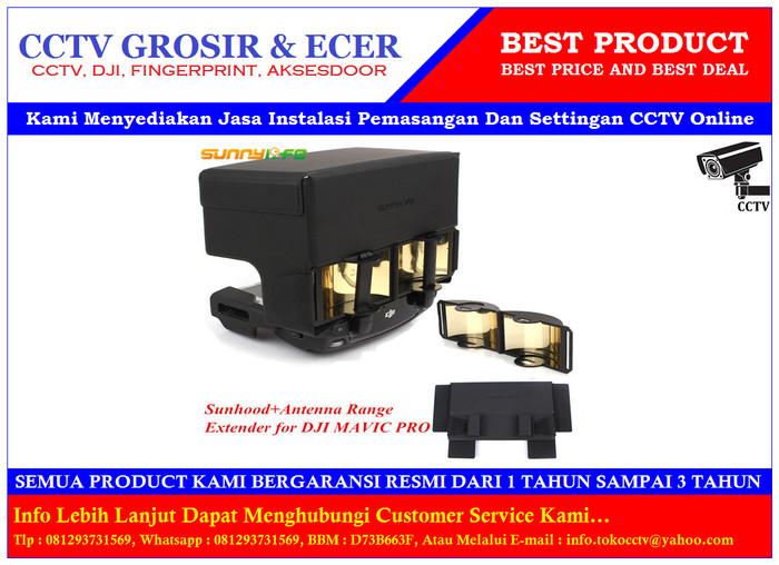 harga Dji mavic pro - signal booster range extender + rc sun shade Tokopedia.com
