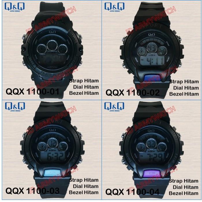 Source · Q&Q - Jam Tangan Digital Pria QQX 1100 .