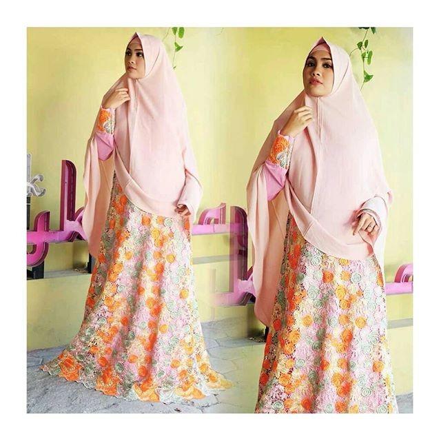 Jual Kebaya Muslim Premium Gamis Syar I Modern Baju Lebaran Murah Cantik Kota Surakarta Kebaya Modern Murah Tokopedia