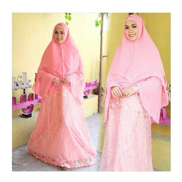 Jual Kebaya Muslim Premium Gamis Syar I Modern Baju Lebaran Murah