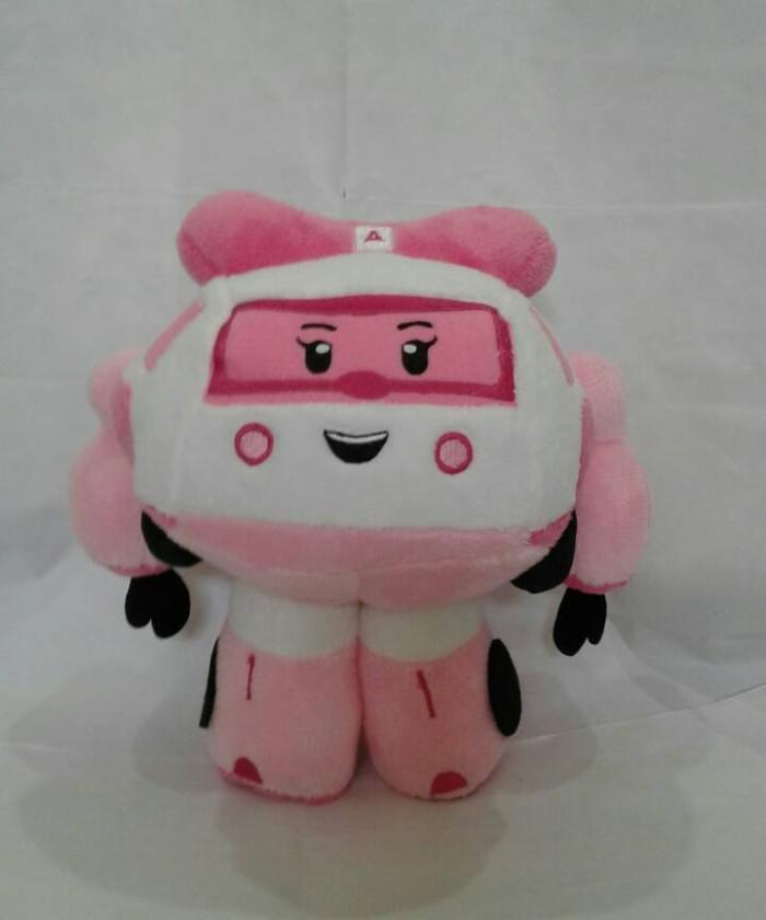 harga Boneka robot poly robocar pink Tokopedia.com