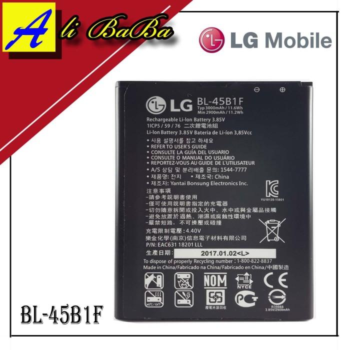 harga Baterai handphone lg v10 bl-45b1f battery batre original Tokopedia.com