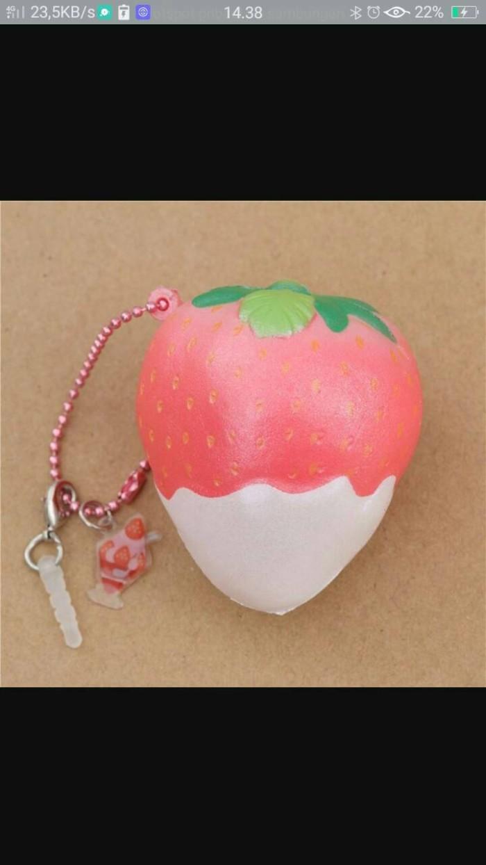 Jual Punimaru Mini Strowberry Kota Tangerang Squishy And Slime Dll