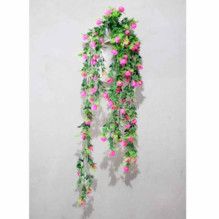 harga Buket bunga daun rambat plastik artificial dekorasi dinding shabby 1 Tokopedia.com