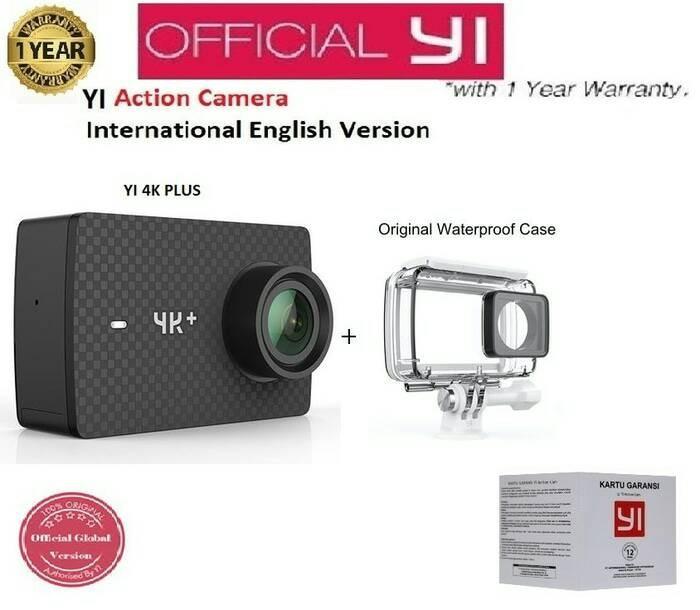 harga Action Camera Xiaomi Yi 4k + Plus Action Cam Xiaomi-yi Resmi Murah Int Tokopedia.com