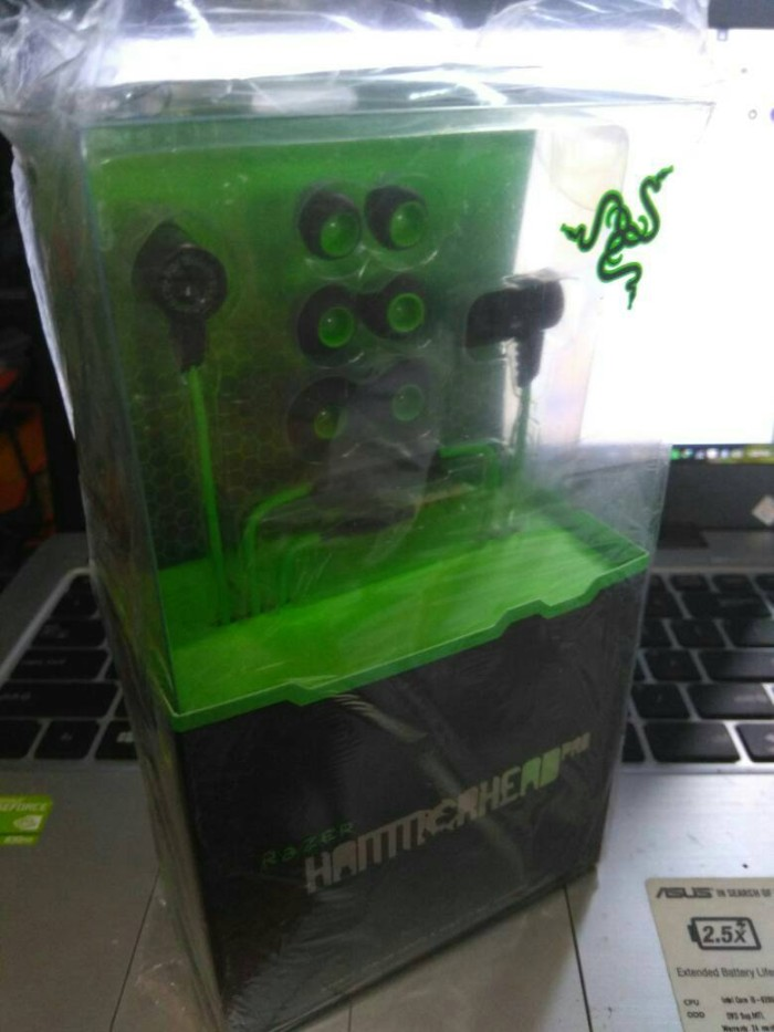 headset razer hammerhead pro OEM headphone gaming