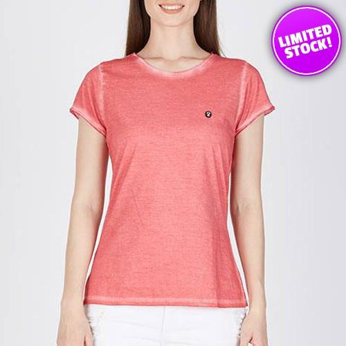 Kaos Wanita Original Greenlight Simple Pink 2020