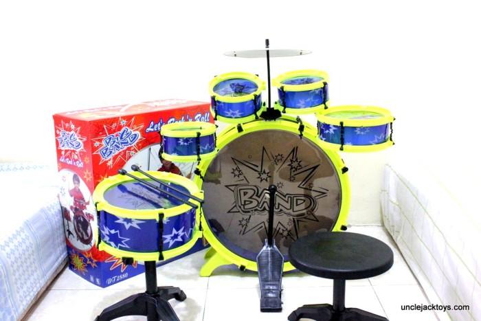 harga Mainan Edukatif : Drum Set Mini - Big Band Tokopedia.com