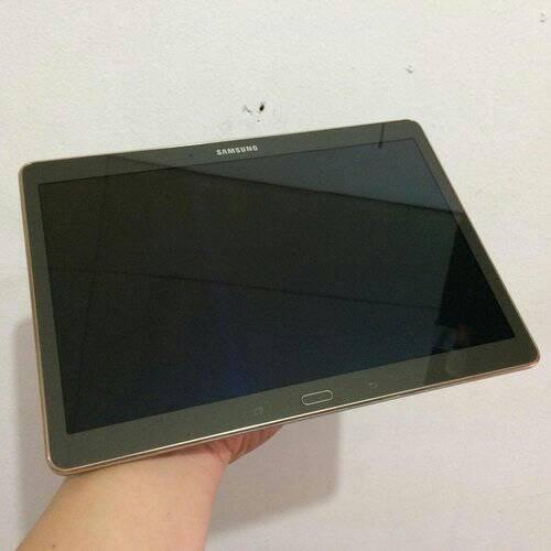 Samsung Galaxy Tab S 10.5 LTE WARNA Titanium Bronze (SECOND EKS SEIN)