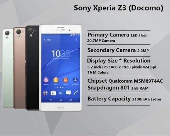 Jual Sony xperia z3 docomo ram 3gb FULLSET - Kab  Badung - YM PHONE SHOP |  Tokopedia
