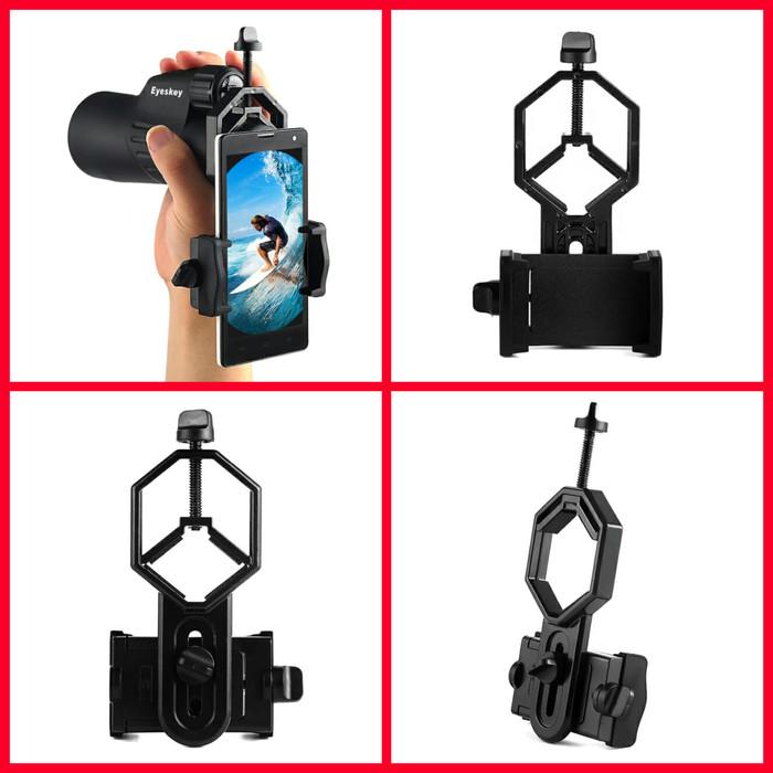 harga Mounting / adapter smart phone hp di teropong teleskope senapan Tokopedia.com