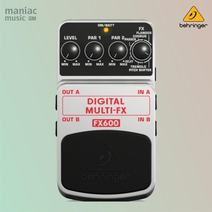 harga Behringer fx600 (multi efek digital stereo stompbox gitar/bass) Tokopedia.com