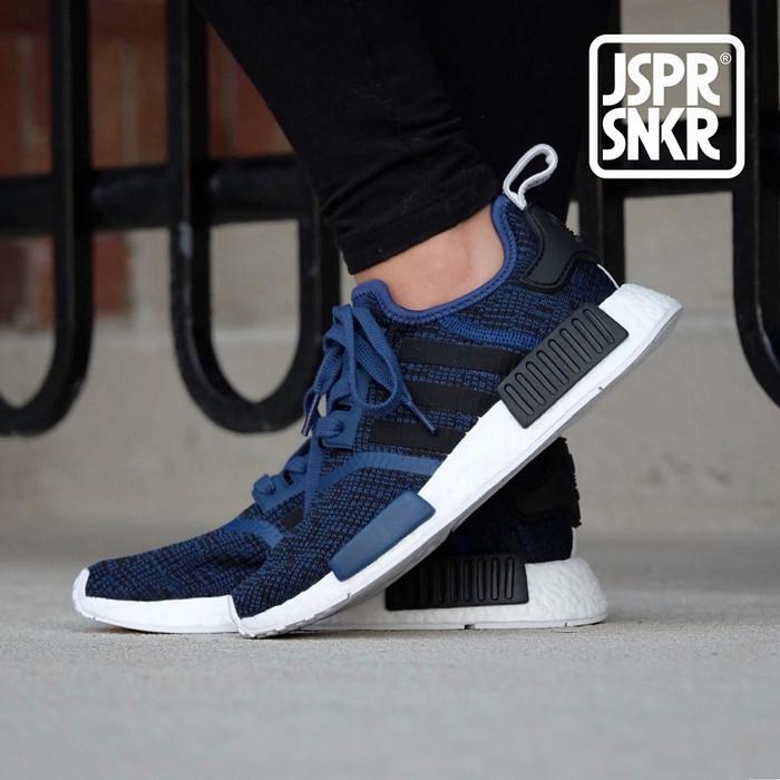 Jual Adidas NMD R1 Glitch Camo Pack Mistery Blue Kota Bandung Jasper Sneakerz | Tokopedia