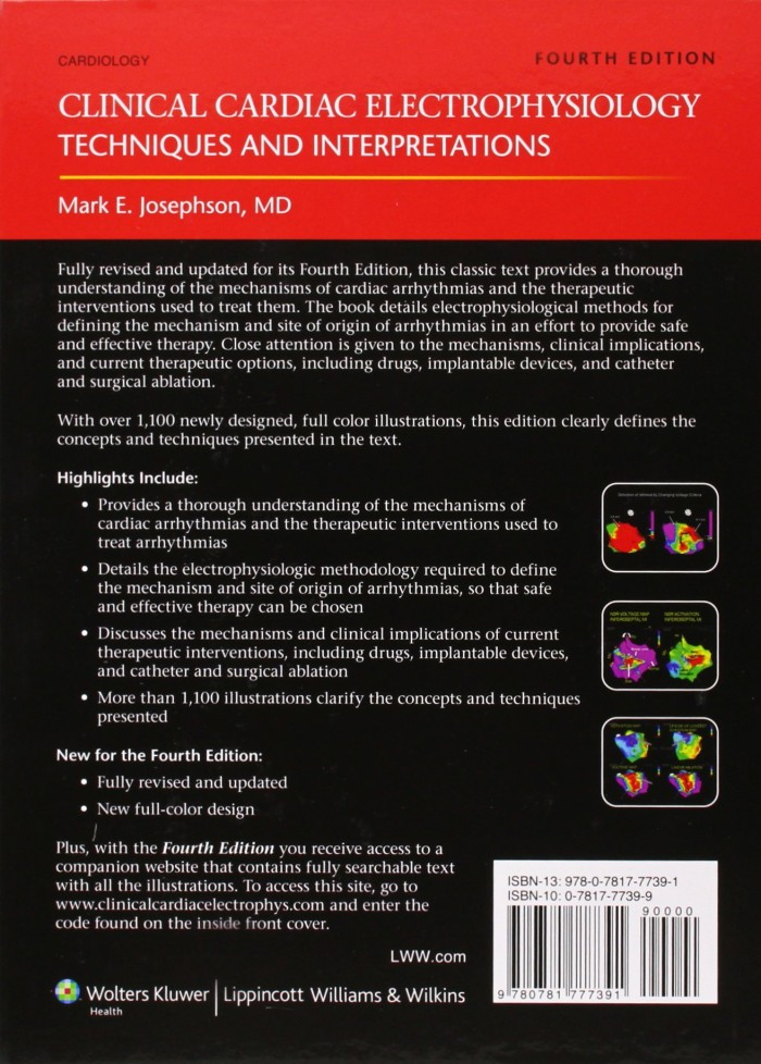Clinical Cardiac Electrophysiology, Techniques and Interpretation