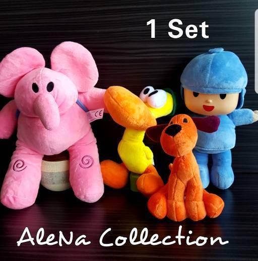 harga Boneka pocoyo elly elephant bandai import kado hadiah ulang tahun Tokopedia.com