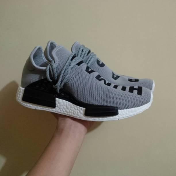 c7542332fd19a Jual adidas nmd human race grey - kicks bandung