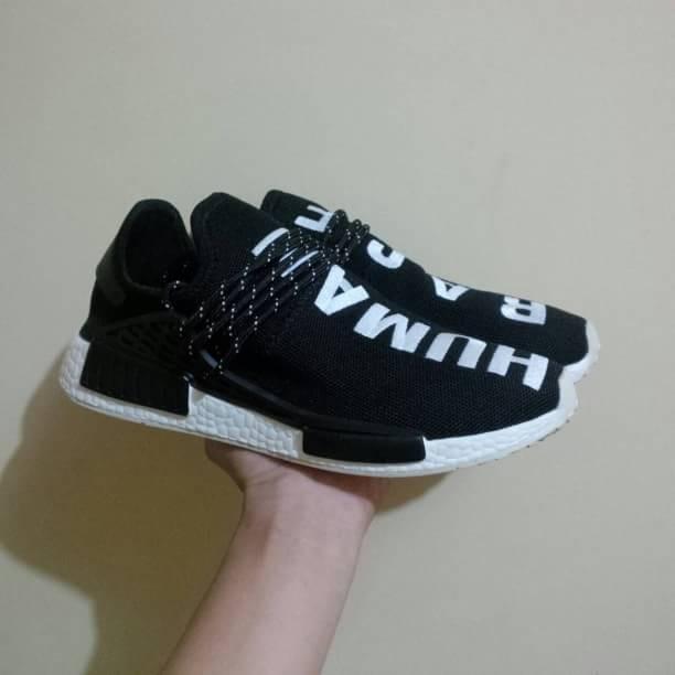 e48a37e06c6ff Jual adidas nmd human race black white - Kota Bandung - kicks ...
