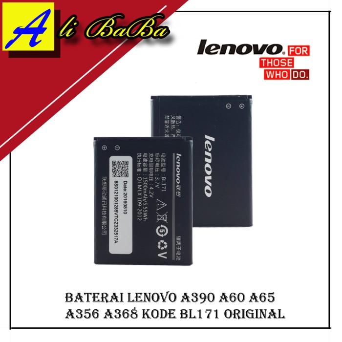 harga Baterai handphone lenovo bl171 a390 a60 a65 a356 a368 battery original Tokopedia.com