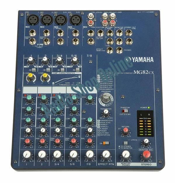 harga Audio mixer yamaha mg 82 cx/ mg82cx Tokopedia.com