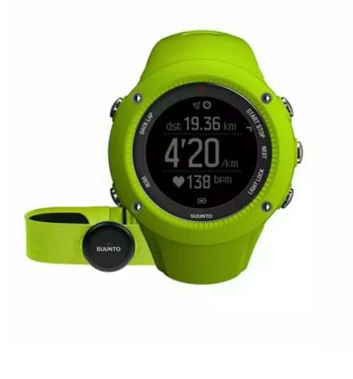 harga Suunto ambit3 ambit 3 run hr heart rate monitor gps watch lime Tokopedia.com