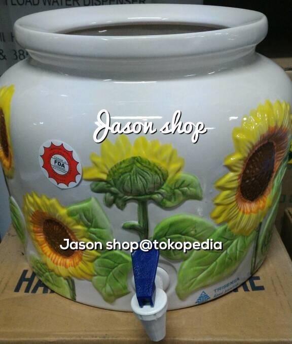 harga Galon guci/tempat aqua galon bahan keramik Tokopedia.com