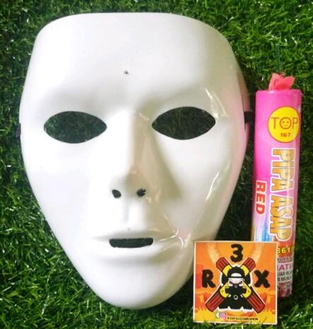 harga Paket hemat topeng jabbawockeez + smoke bomb pipa asap pink 1pcs Tokopedia.com