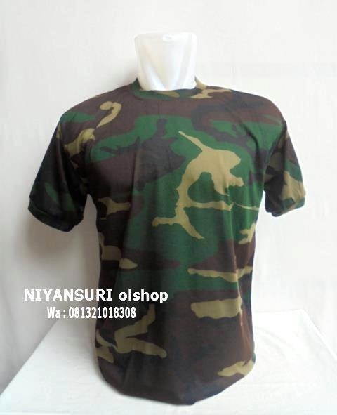 harga Kaos oblong loreng nato woodland Tokopedia.com