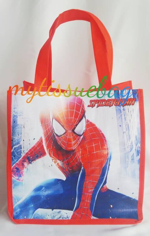 harga Souvenir ultah tas spiderman Tokopedia.com