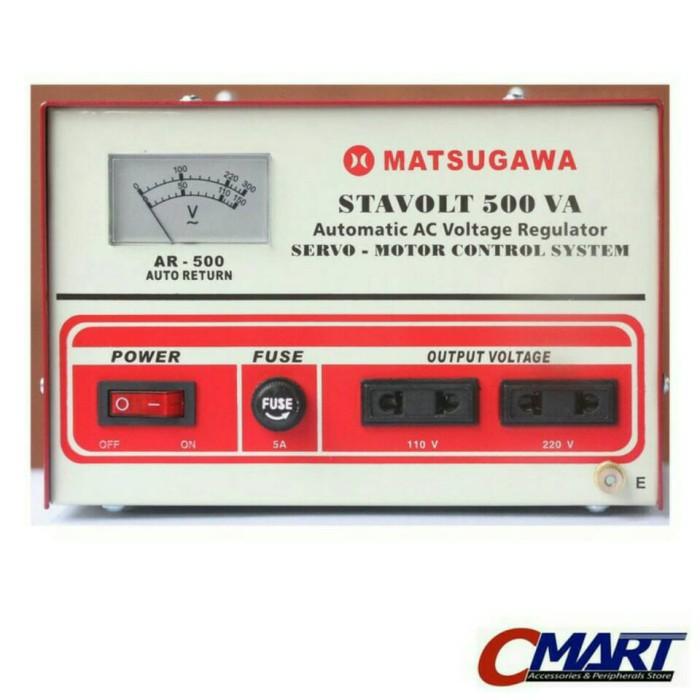 harga Matsugawa stavolt 500va ac voltage stabilizer servo motor control Tokopedia.com