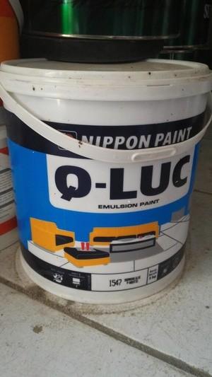 harga Cat tembok qluc emulsion paint 5 kg by nippon paint khusus gojek Tokopedia.com