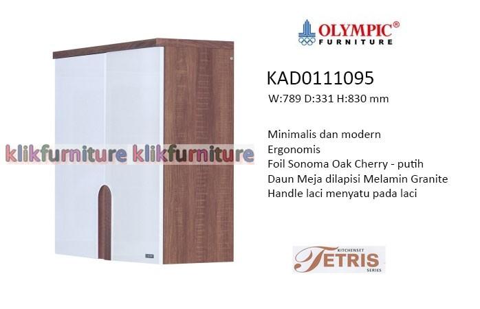 Jual Kad 0111095 Tetris Olympic Kitchen Set Klikfurniture Tokopedia