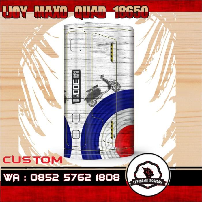 harga Garskin ijoy maxo quad 18650 scooter Tokopedia.com