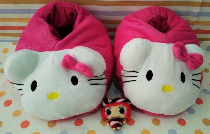 harga Sandal tidur  boomber  karakter hello kitty / sandal boneka / sendal Tokopedia.com