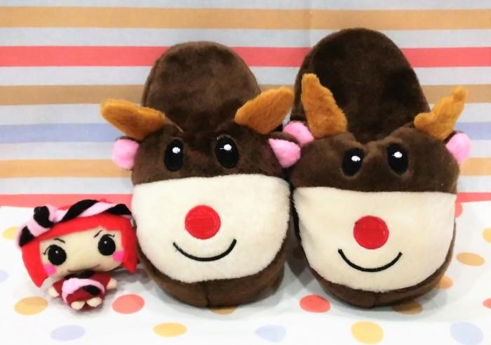 harga Sandal tidur anak usia 3 tahun rudolf d' red nose reindeer / sendal Tokopedia.com