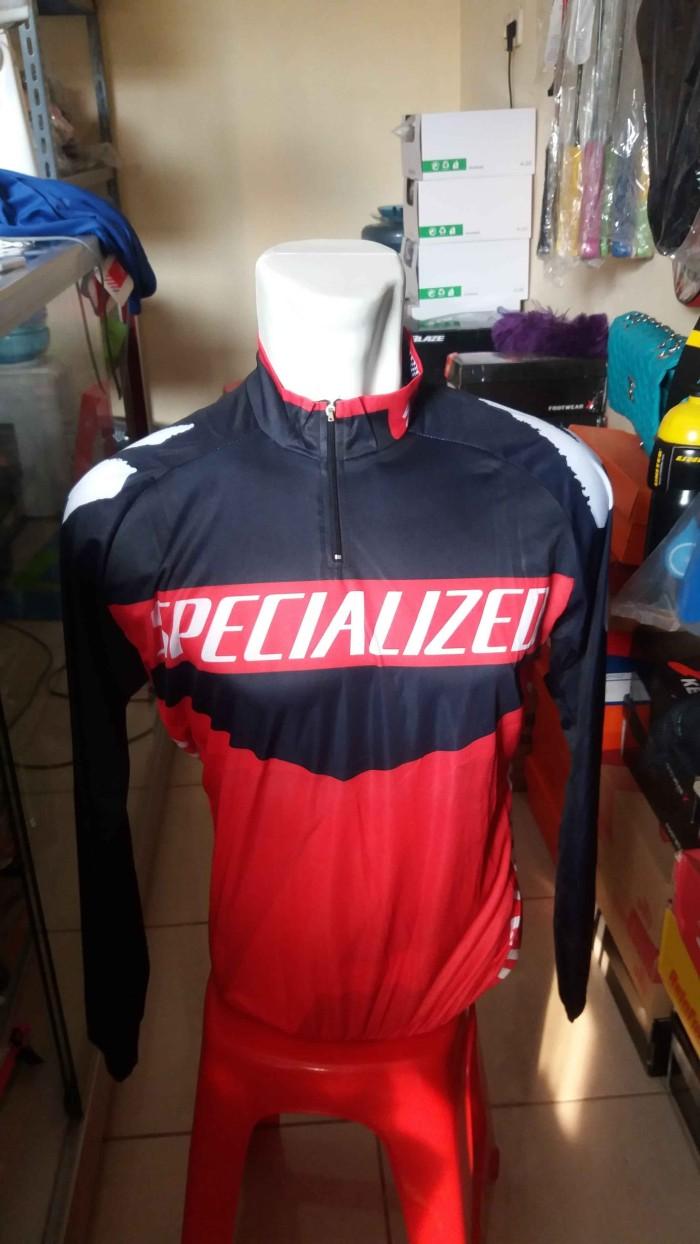 Jual Baju Jersey Sepeda Specialized Panjang Press Body Murah