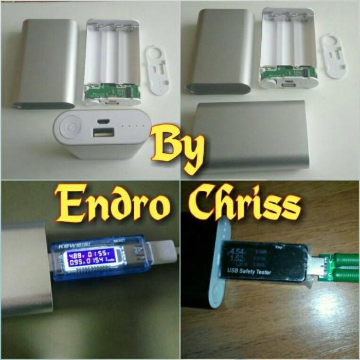 harga Power bank 3pcs 18650 cell diy case exchangeable console powerbank 3x Tokopedia.com