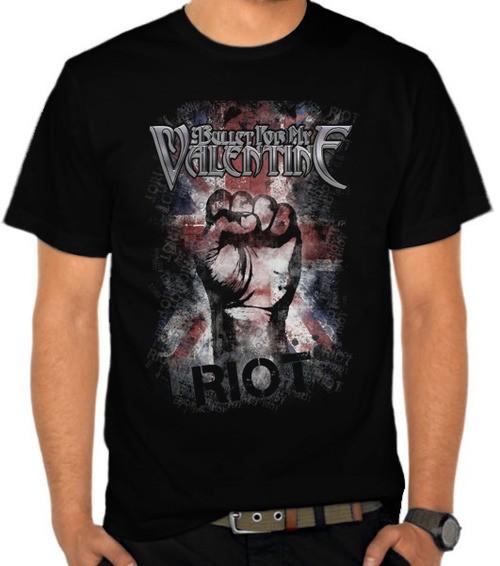 harga Kaos bullet for my valentine 14 - riot (nm2ds) Tokopedia.com