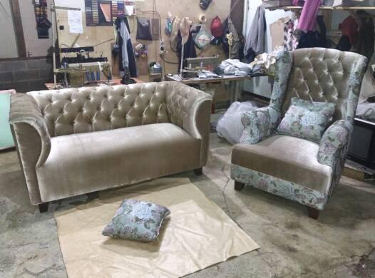 harga Sofa clasik 2 seatr + sofa wing chair (free ongkir jabotabek) Tokopedia.com