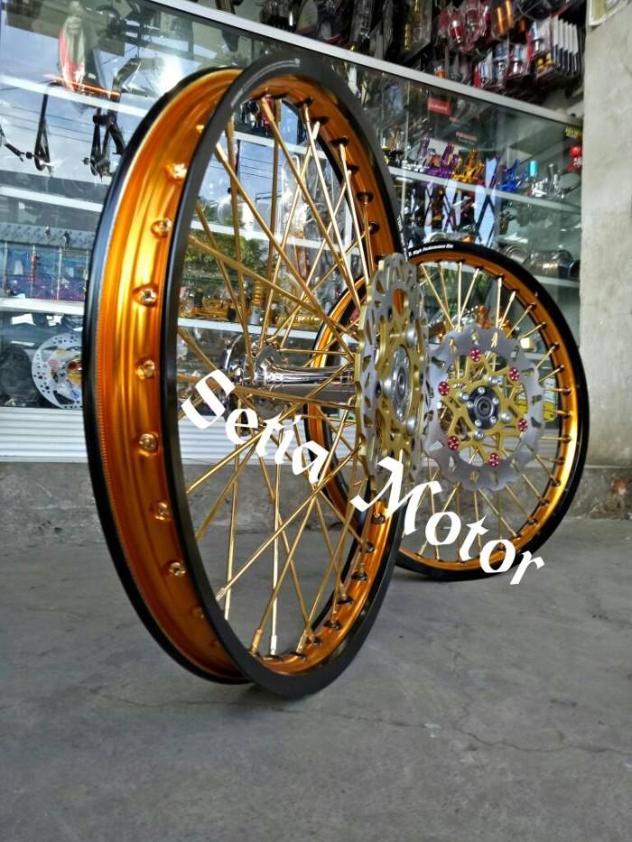harga Velg tdr sepaket satria fu tromol becak jari jari cakram stel Tokopedia.com