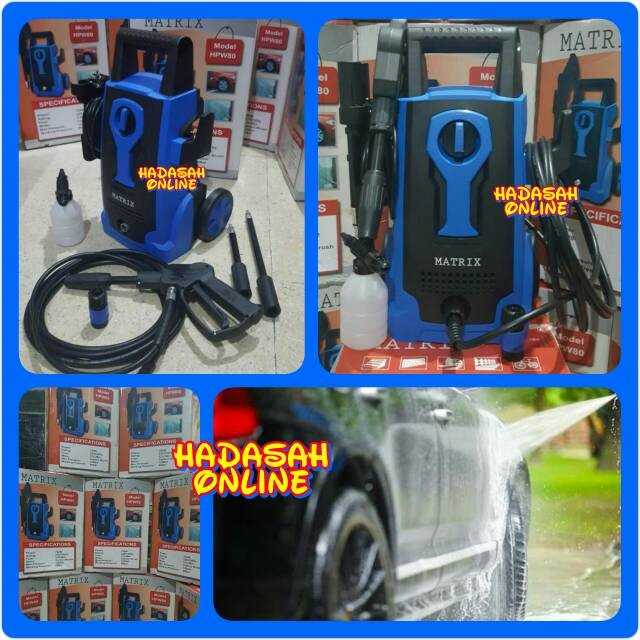 harga High Pressure Washer Matrix Hpw 80 | Mesin Cuci Steam Mobil Motor Tokopedia.com