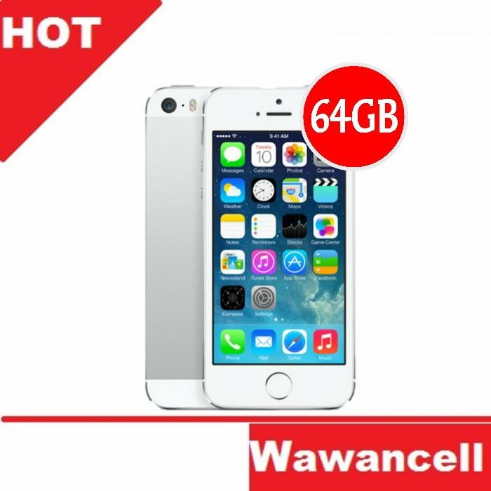 Apple iphone 5s original - silver - 64 gb - 4g lte -  garansi 1 tahun