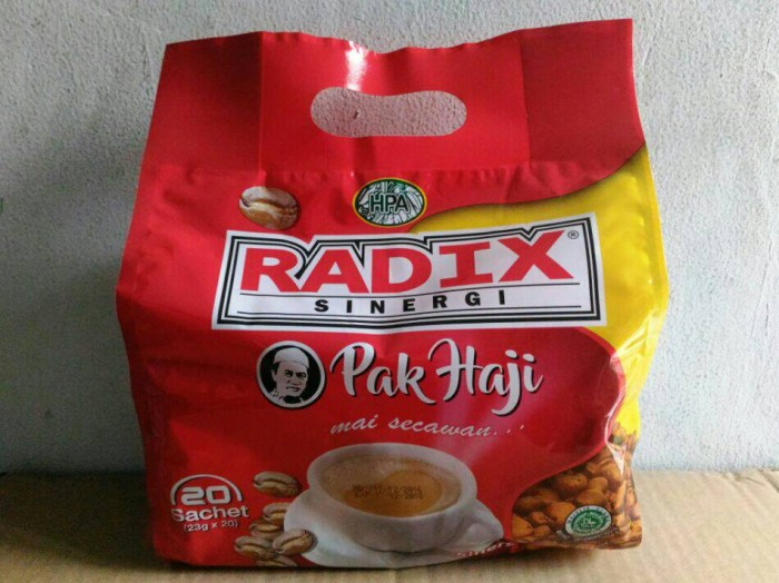 harga Kopi radix / radik merah pak haji sehat ori hpa malaysia Tokopedia.com
