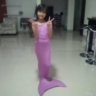 harga Mermaid set polos/baju renang putri duyung size xl 31-38kg Tokopedia.com