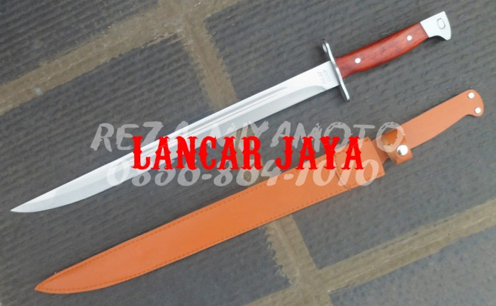 harga Pisau Bayonet Sangkur Parang Belati Untuk Senapan Tentara Tipe Ak47ccc Tokopedia.com