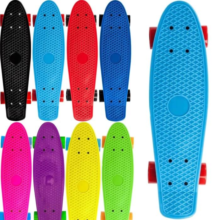 Papan Skateboard PENNY BOARD BANANA BOARD FISHBOARD PU WHEELS