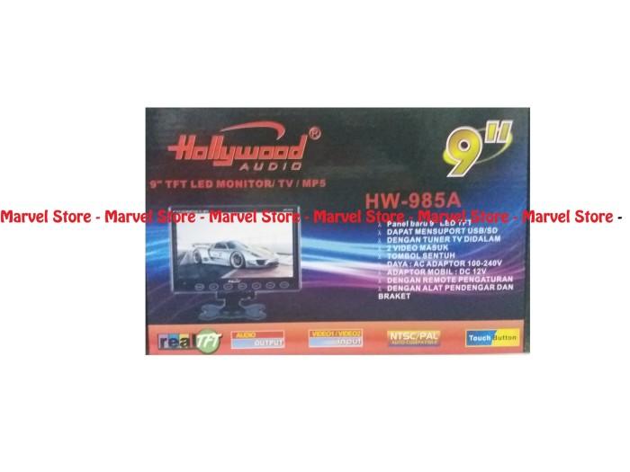 harga Tv - monitor ondash led 9 inci merk hollywood usb - sd - tv mobil 9 Tokopedia.com