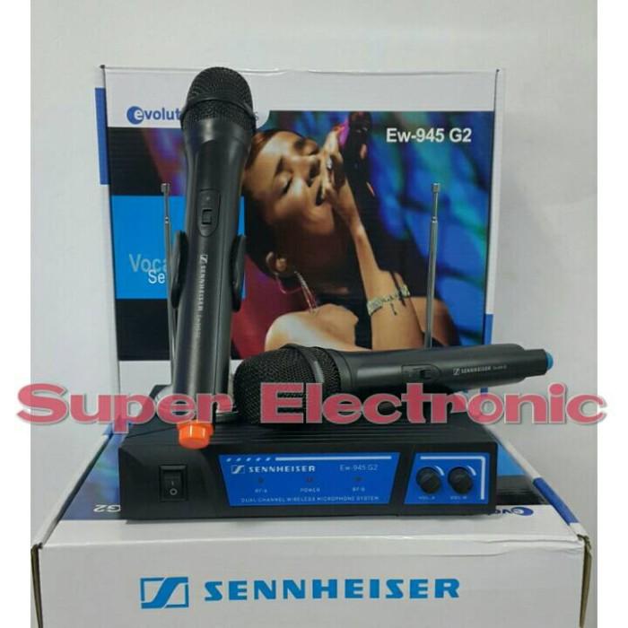 harga Mic wireless sennheiser ew 945 g2 Tokopedia.com