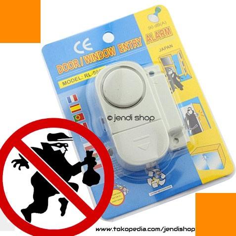 ... Rumah Anti Maling - Door Window Entry Alarm. Source · Alarm Pintu / Jendela Anti Maling