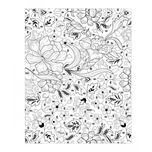 Jual Import Batik Colouring For Adults Book Mewarnai Coloring