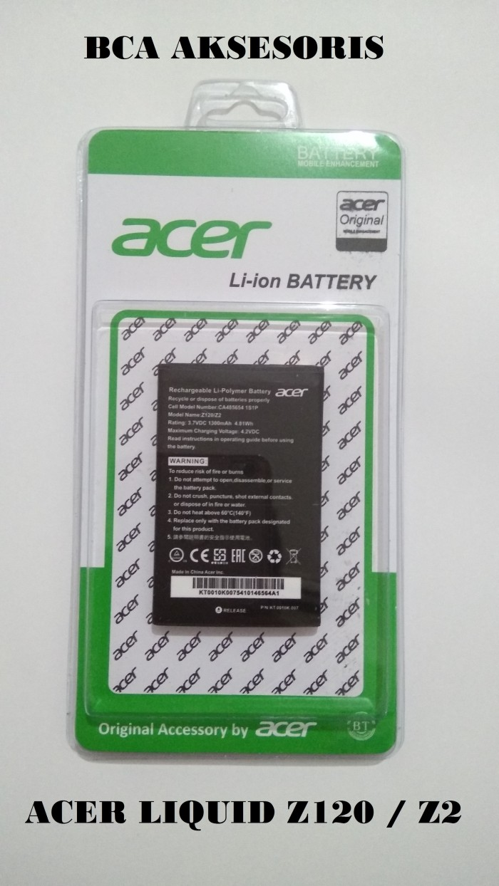 Battery baterai acer liquid z120 / z2 original